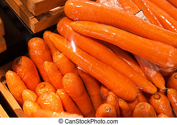 Fresh Carrot in market place - An Fresh Carrot in market...