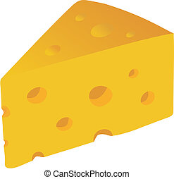 Swiss Cheese vector illustration - Swiss Cheese