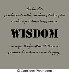 Aristotle Quotes. As health produces health...