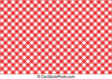 diagonal red tablecloth seamless pattern vector illustration