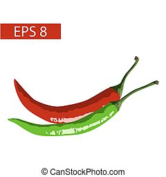 peppers vector illustration