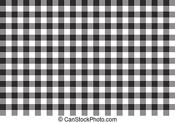 tablecloth background black seamless pattern