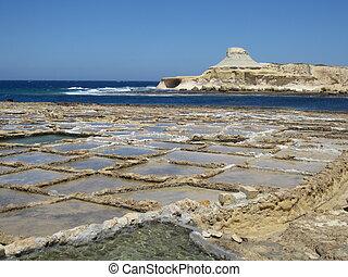 Saline - Salt flats