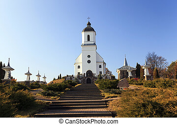 Catholic Church Belarus - Rural Catholic Church, located on...