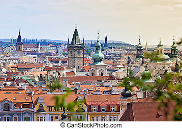 Prague, Overview from Letna, Czech Republic