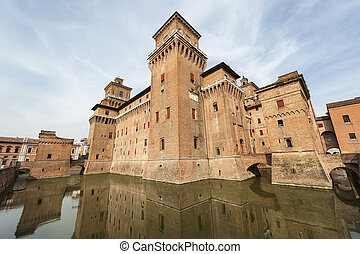 Castle of Ferrara (Italy)