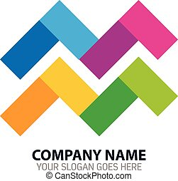Media Publisher Vector Logo Icon - Vector Design of Media...