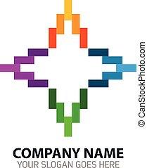 Media Publisher Vector Logo Icon - Vector Design of Media...