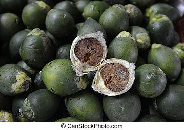 ASIA THAILAND ISAN AMNAT CHAROEN - betel nut on the market...
