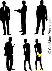 Siluetas, Hombres de negocios