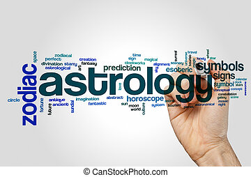 Astrology word cloud concept - Astrology word cloud