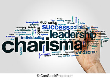 Charisma word cloud - Charisma concept word cloud background