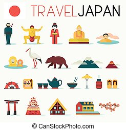 Travel Japan Icons