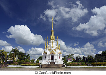 ASIA THAILAND ISAN UBON RATCHATHANI - the temple Wat Tham...
