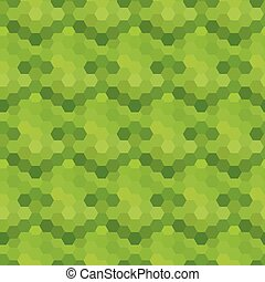Abstract seamless pattern of hexagons. Vector illustration