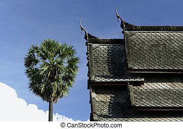 ASIA THAILAND ISAN UBON RATCHATHANI - the Tempel Wat Thung...