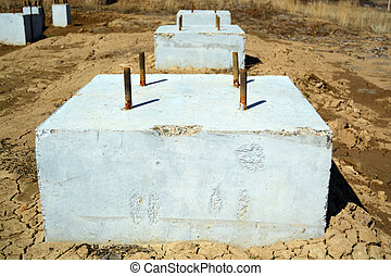Concrete Foundation Blocks Photo - Concrete Foundation...