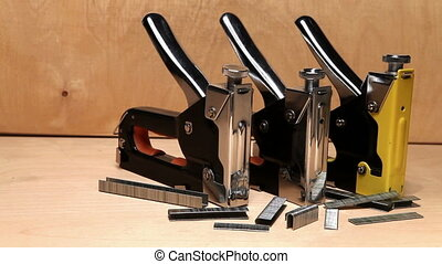 staplers manual mechanical - for repair work in the house...