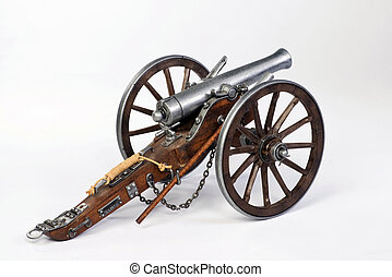 1861 Dahlgren Cannon - Model of a 1863 Dahlgren cannon