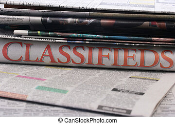 Classifieds - The newspaper classifieds among newspapers...