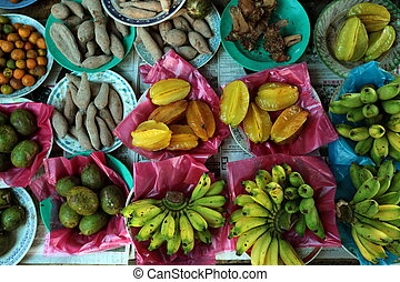 ASIA BRUNEI DARUSSALAM - fruits and fegetable at the market...