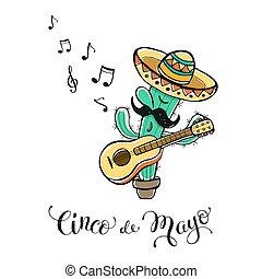Cinco de Mayo illustration - Funny Cinco de Mayo...