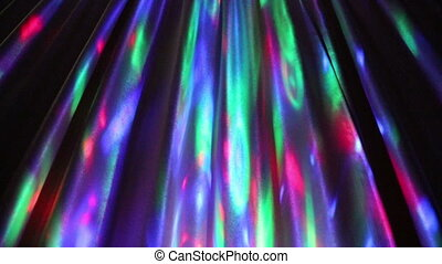 multi-colored motion light