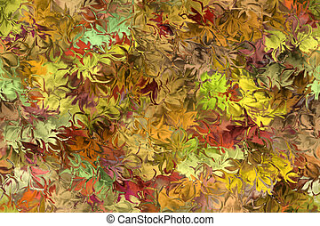background - abstract background scene with floral texture