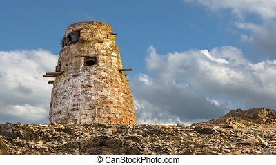 Dovecote in the desert of Egypt, Africa