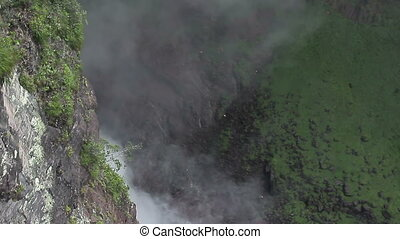Waterfall Angel Aerial Shot - Waterfall Angel Airial Shot...