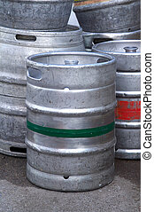 Beer barrels - Metal beer barrels