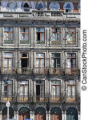 EUROPE PORTUGAL PORTO RIBEIRA PARCA DA LIBERDADE - a house...