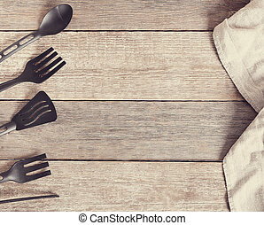 Kitchen utensil - Cooking Kitchen utensil on the table