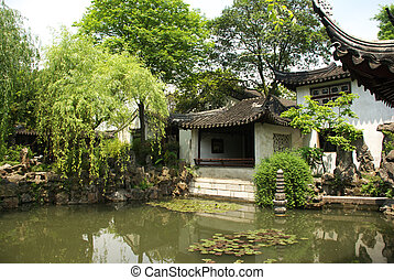 The Lingering Garden is located at Liuyuan road, outer Lumen...