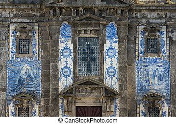EUROPE PORTUGAL PORTO IGREJA DE SANTA CLARA CHURCH - the...