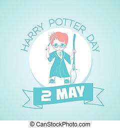 2 may Harry Potter Day - Calendar for each day on may 2....
