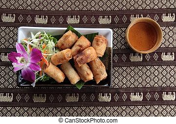 ASIA THAILAND BANGKOK RESTAURANT THAI FOOD - a thai food...