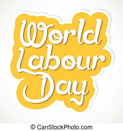 World Labour Day - nice and creative vector abstract for...