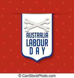 Australia Labour Day - nice and creative vector abstract for...