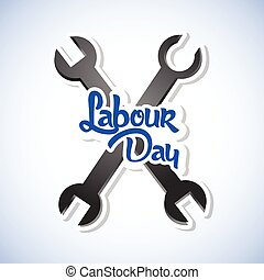 Labour Day - nice and creative vector abstract for Happy...