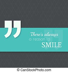 Inspirational quote vector - Inspirational quote Theres...