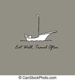 Eat Well, Travel Often idea