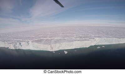 Nature and landscapes of Greenland. Travel on the scientific...