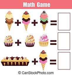Basic RGB - Math educational game for children. Learning...