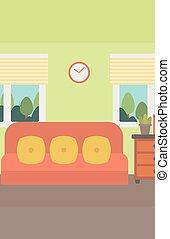 Background of living room - Background of living room vector...