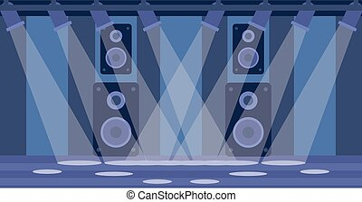 Background of night club - Background of night club vector...