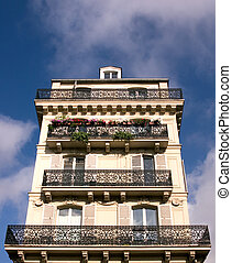 Parisian Apartment Building - An inner-city apartment...
