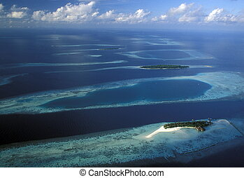 ASIA INDIAN OCEAN MALDIVES SEASCAPE - the seascape of the...