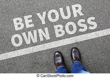 Self-employed self employed employment be your own boss...