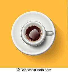Espresso - Semi-Realistic Vector Illustration Of an Italian...